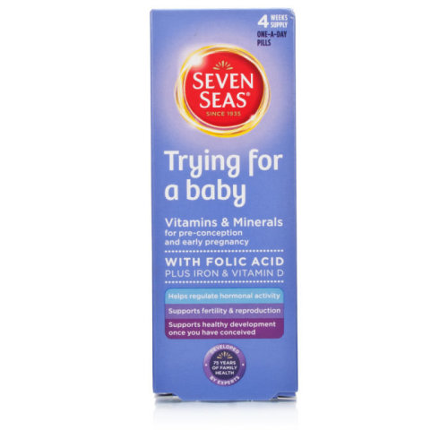 Seven Seas Trying for a Baby 28 tablets