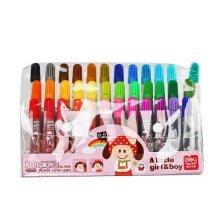36 Assorted Colors Permanent Paint Markers for Kids, Random Color