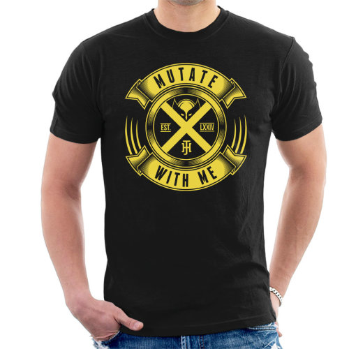 Mutate With Me Wolverine Xmen Men's T-Shirt