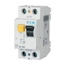 2-Poles 2-Modules Residual Current Circuit Breaker 25A 230VDC Eaton CFI6-25/2/03