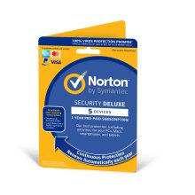 Norton Security Deluxe 2019 1 User & 5 Devices - New Enrolment Version