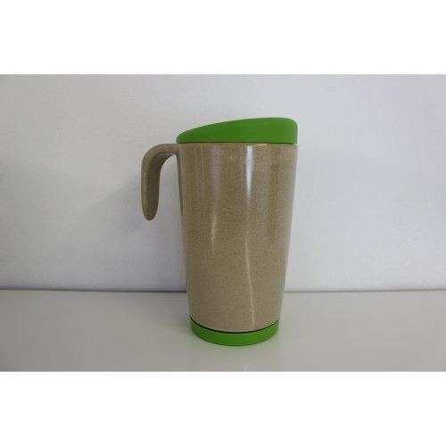 OLPRO Husk Re-Useable Café Mug - Green