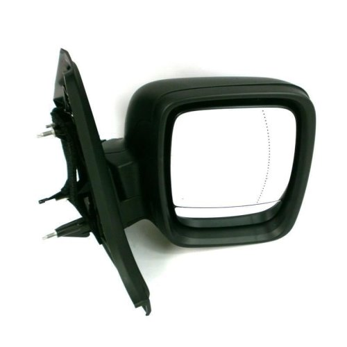 Renault Trafic Business 2014-2016 Electric Wing Door Mirror Black Drivers Side