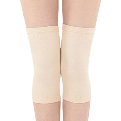 Ultrathin Knee Brace Sleeve for Sports, Arthritis, Joint Pain, Flesh (Large)