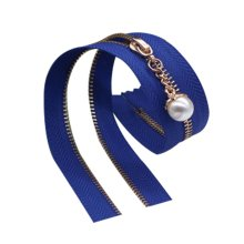 2 Pcs Nylon Coil Zippers Tailor Sewing Tools Garment Accessory 15.75 Inch [G]