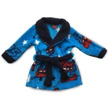 Cars Dressing Gown - Navy
