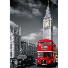 Jigsaw Puzzle - 1500 Pieces - Red Bus in London