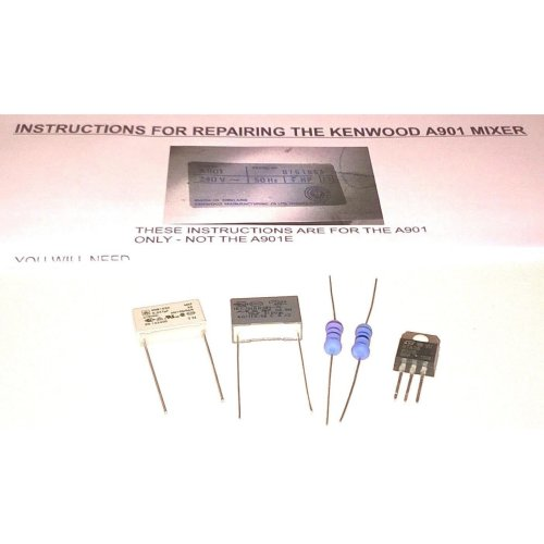 Kenwood Chef A901 Mixer Repair Kit With Instructions