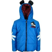 Boys DHQ1448 Disney Mickey Mouse Winter Hooded Jacket 3-8 Years