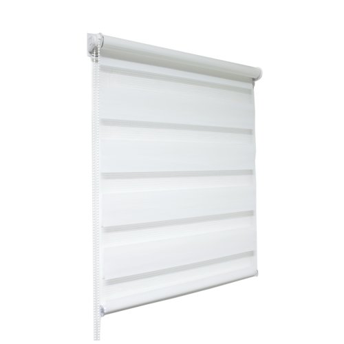 White Zebra/Vision Window Roller Blind, Many Sizes