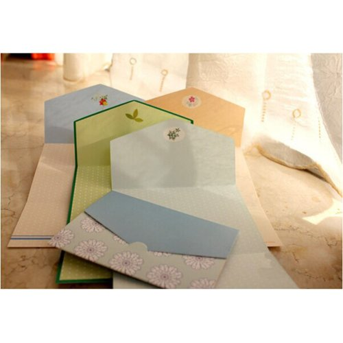 Lovely Folding Series, All Occasion Mini Greeting Cards/Set Of 4/24 Piece