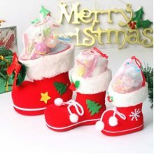 Christmas Children Gift Candy Boots