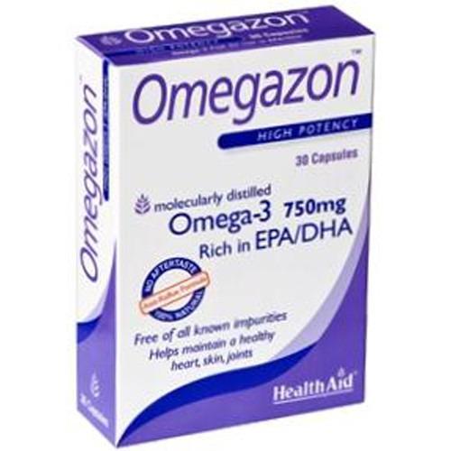 Healthaid Omegazon (omega 3 Fish Oil) Blister - 30 Capsules