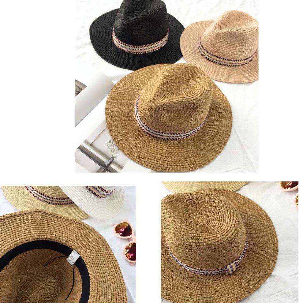 4997a51e83318 Women s Sun Hat National Style Wind Visor Hat Beach Hat  4 on OnBuy