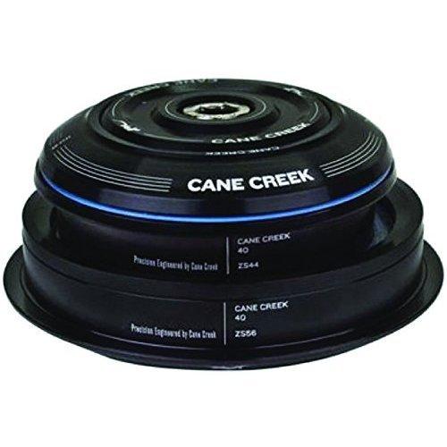 Cane Creek Semi-Int 40-Series 1-1/8 x 1.5 Cart Crown Straight Steerer Headset, Black, 30mm