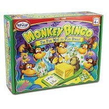 Popular Playthings Monkey Bingo Card Game