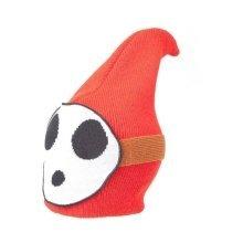 Shy Guy Nintendo Super Mario Brothers Beanie Hat red/white (KC170206NTN)