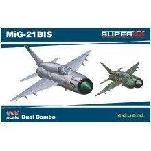 Edk4427 - Eduard Kits 1:144 Dual Combo - Mig-21bis