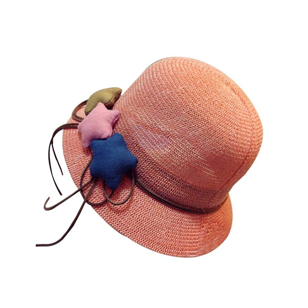 2d438c46a65 Baby Hat Child Cute Straw Hat Visor Sun Hat Beach Hat  A  on OnBuy