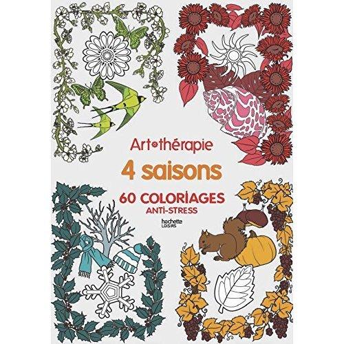 Quatres saisons : 60 coloriages anti-stress