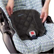 Kiddopotamus Piddle Pad Waterproof Seat Protector: Black