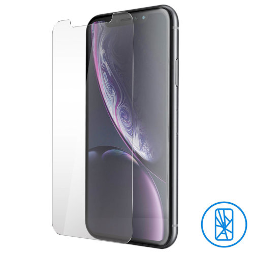 Tempered glass screen protector for Apple iPhone XR 9H hardness
