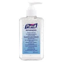 PURELL Advanced Hygienic Hand Rub Pump Bottle, 300 ml