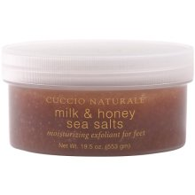 Cuccio Sea Salt for Feet, Milk and Honey, 19.5 Ounce