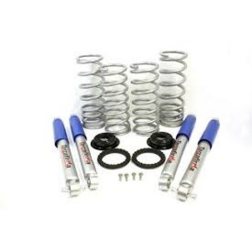 TF229 Discovery 2 air to coil conversion kit (Medium Load, 2 inch lift includes springs & Pro-Sport Shocks)