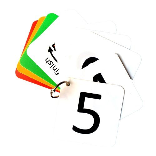 Visual Countdown Keyring AAC (Picture Communication Symbols)