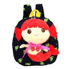 Cute Cartoon Backpack Kindergarten Shoulder Bag Fashion School Bag-Mermaid A3