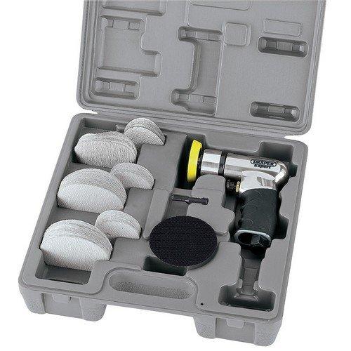 Draper 47617 Expert 50/75mm Compact Dual Action Soft Grip Air Sander Kit