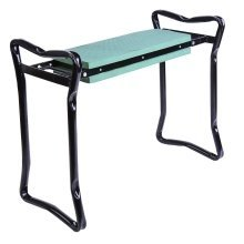 Outsunny 2-in-1 Garden Kneeler Seat | Foldable Kneeling Pad & Bench