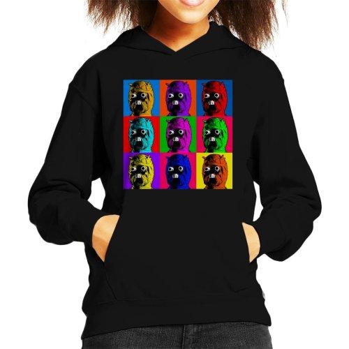 Original Stormtrooper Tuscan Raider Pop Art Kid's Hooded Sweatshirt