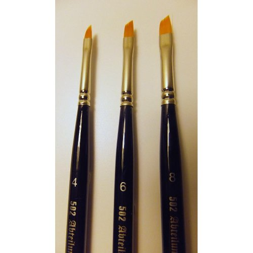 MIGABT845-6 - * Mig - Brushes - Angle Blende r Brush Size 6