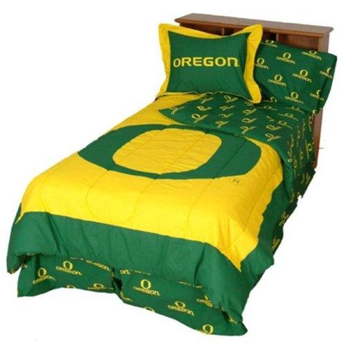 College Covers ORECMQU Oregon Reversible Comforter Set- Queen