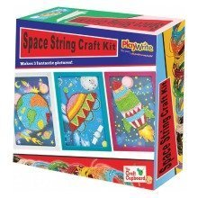 6 Space Art Paperstring Craft Sets