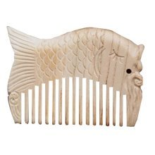 Carp Combs For Hair Wooden Comb Carved Peach Comb