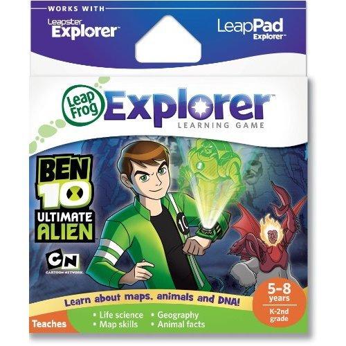 LeapFrog Explorer Learning Game Ben 10 works with LeapPad amp Leapster Explorer