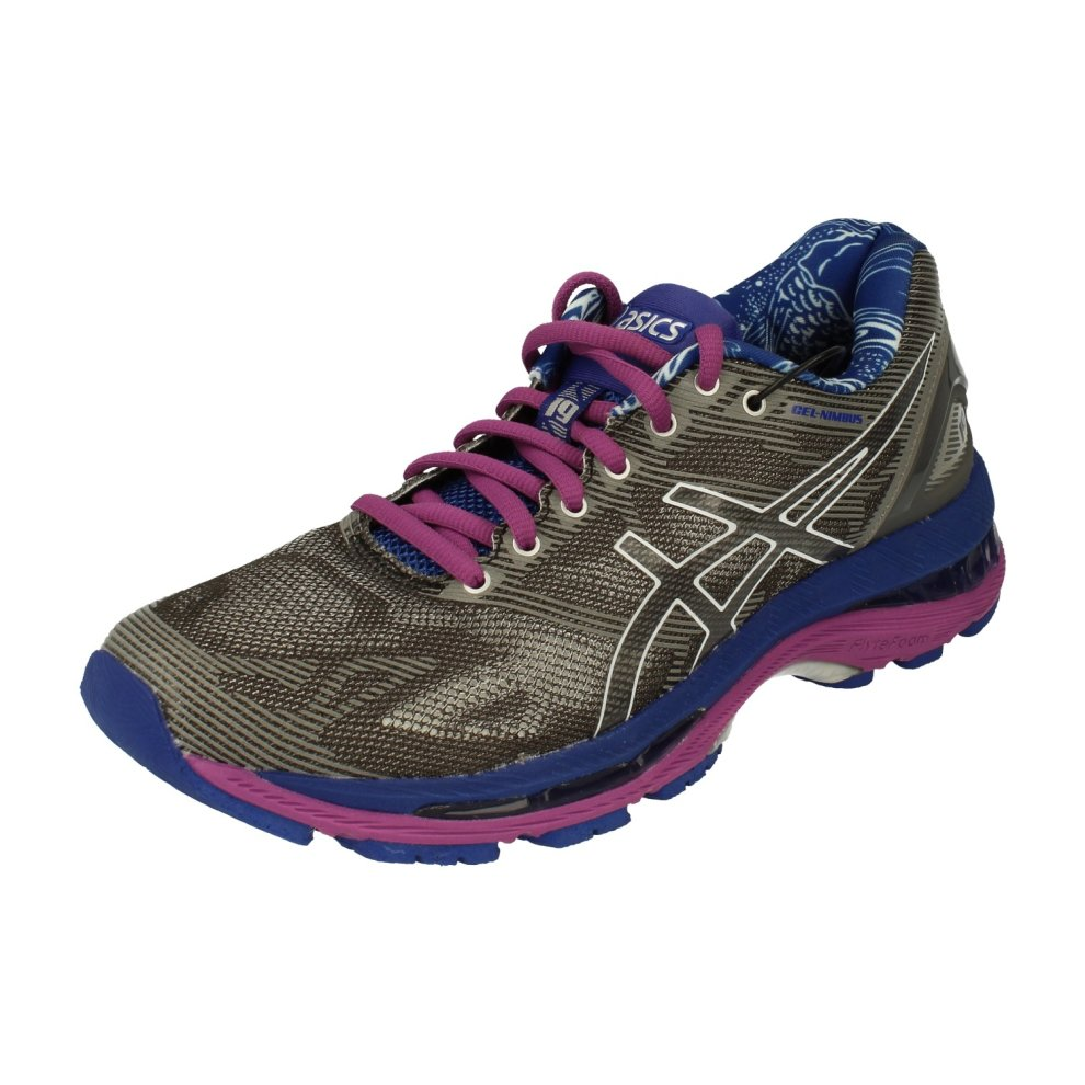 online store b7f04 c286b Asics Gel-Nimbus 19 Lite Show Womens Running Trainers T754N Sneakers Shoes