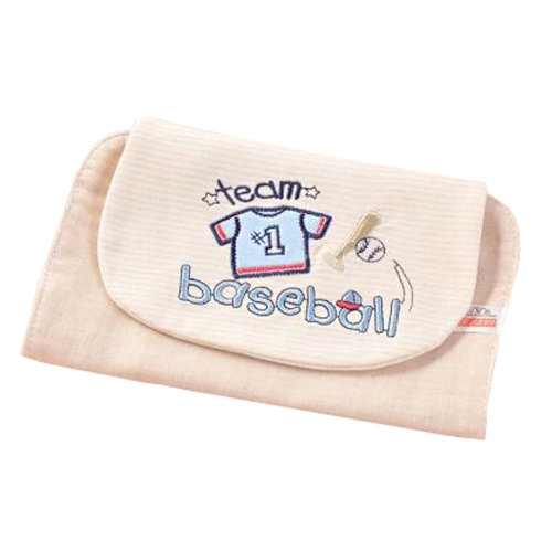 Soft Cotton Baby Perspiration Wipes Towel Sweat Absorbent Towel , E