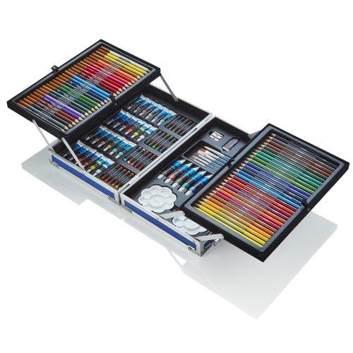 Artworx Blue 125 Piece Aluminium Art Case