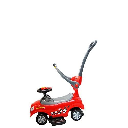 Best Ride On Cars Mini 3 in 1 Push Car, Red