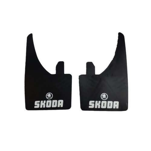 Pair of Universal Mudflaps For Skoda Fabia Superb Octavia