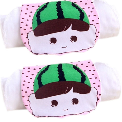 2 Lovely Watermelon Cotton Gauze Towel Wipe Sweat Absorbent Cloth Mat Towels