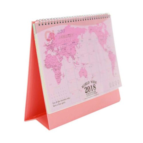 New Style 2017-2018 Office/Desk/Pad Calendar Notebook/Notepad,Day Organizer