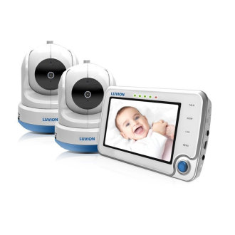 Luvion Supreme Connect - 2 Camera Smart Baby Monitor