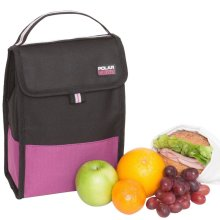 Active Folding Lunch Cooler Raspberry