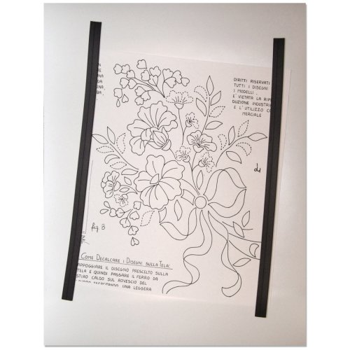 """Lacis Pattern Layout Magnetic Sheet 12""""X15""""-"""