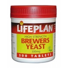 Lifeplan Brewers Yeast  500 Tabs